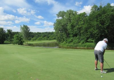 2017KI Blackwolf Run River Course Hole 11 Second Shot