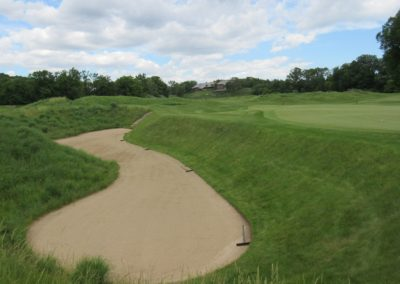 2017KI Blackwolf Run River Course Hole 16 Bunker
