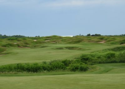 2017KI Whistling Straits Irish Course Hole 8 Approach