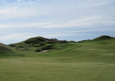 2017KI Whistling Straits Irish Course Hole 1 Approach