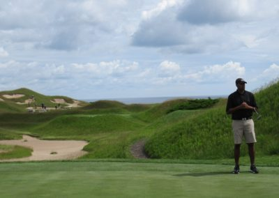 2017KI Whistling Straits Irish Course Hole 10 Green Eric Wills