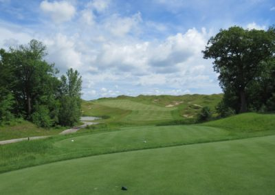 2017KI Whistling Straits Irish Course Hole 10 Shepherd's Post