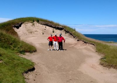 2017KI Whistling Straits Straits Course Hole 11 Bunker Group Shot