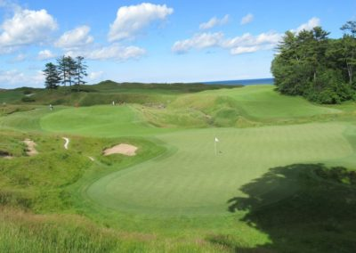 2017KI Whistling Straits Straits Course Hole 18 Green