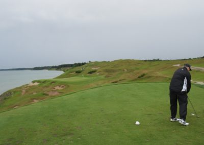 2017KI Whistling Straits Straits Course Hole 3 Tee JJK