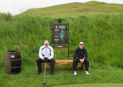 2017KI Whistling Straits Straits Course Hole 5 Sign